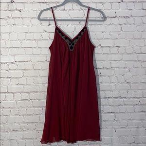 Express Burgundy Dress